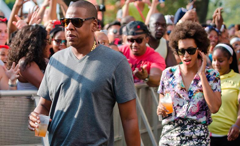 Solange y Jay Z,