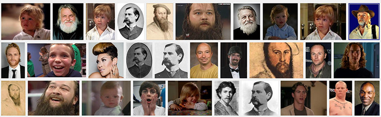 Como podéis ver, la mayoría de personajes que aparecen aquí SON SEÑORES CON BARBA.   © Google Imágenes