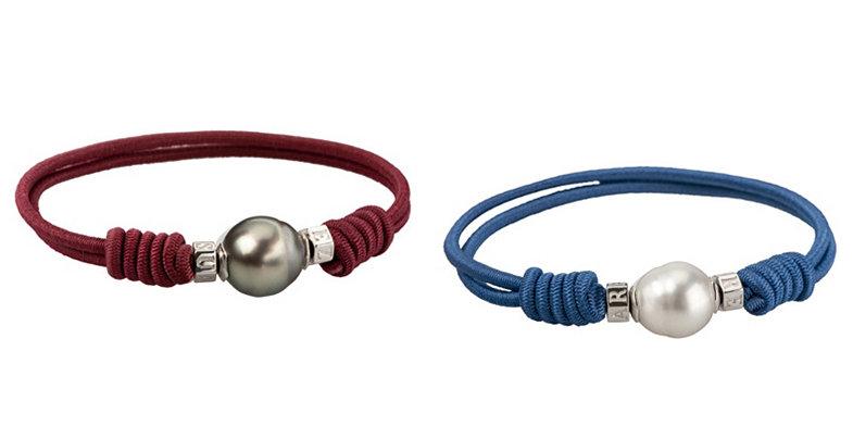 La pulsera solidaria de Suárez para vente-privee con perlas barrocas cultivadas de forma ecológica.