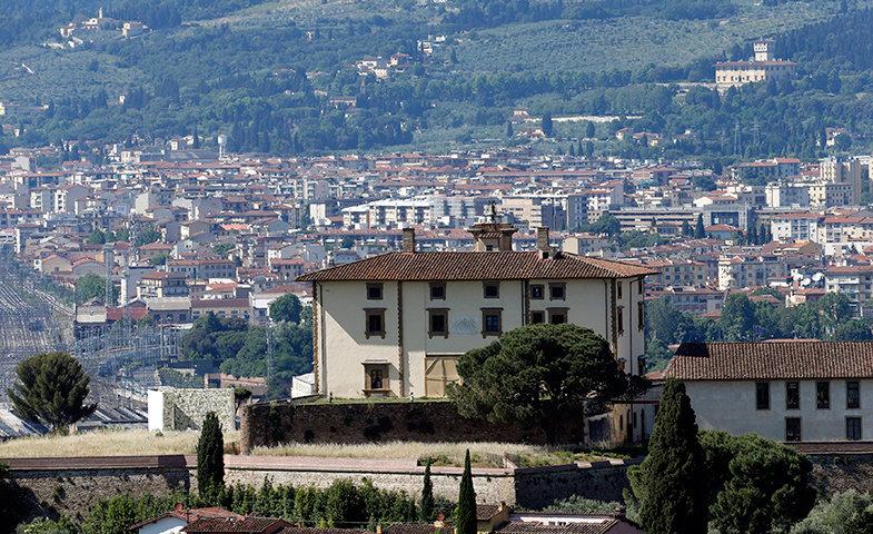 La boda se celebró en el Fuerte de Belvedere, en Florencia.   © Cordon Press