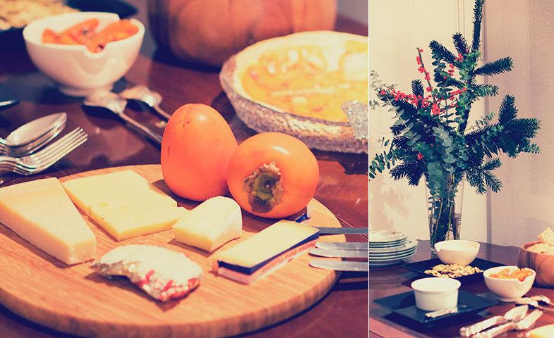Selección e quesos y un poco de decoración. © Fernando Zaragozá