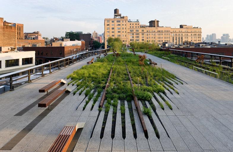 © Iwan Baan - 2009 - High Line Park Photos