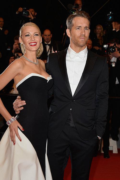 Blake y Ryan como reyes de la fiesta en la pasada edición del Festival de Cannes.  © Getty Images
