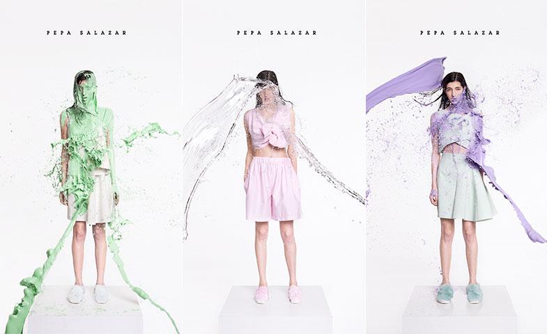 Pepa Salazar fue la ganadora del año pasado con su colección Hyperdry, presentada en septiembre en el Samsung EGO. © Noel Quintela