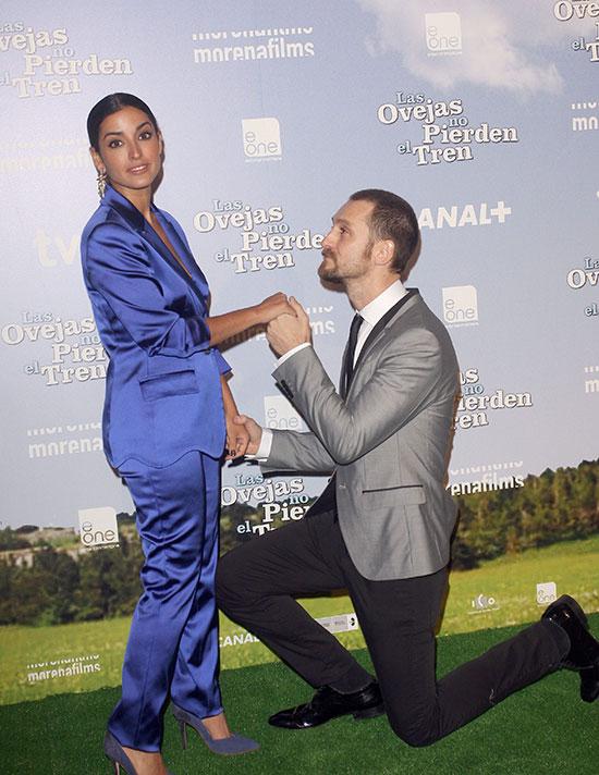 Inma y Raúl Arévalo, en el preestreno de la película.