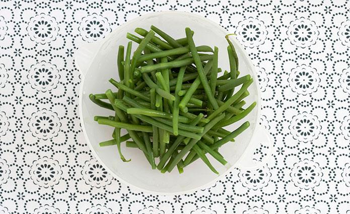 No te olvides de las verduras cocinadas al vapor. Foto: Cordon Press.