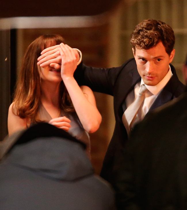 Jamie Dornan como Christian Grey