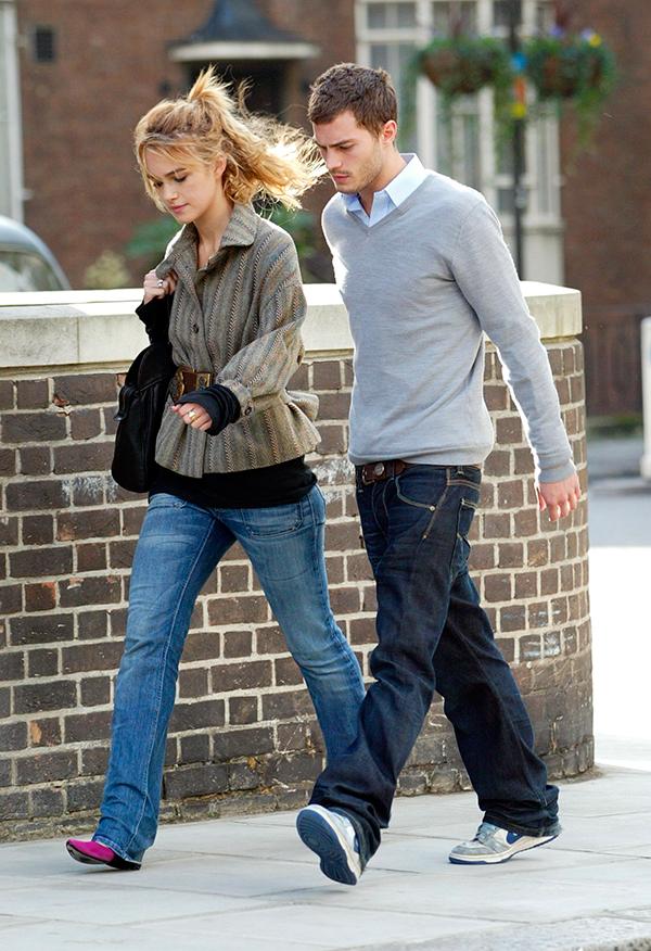 Jamie Dornan y Keira Knightley, en 2005. Fueron pareja durante dos años. © Cordon Press