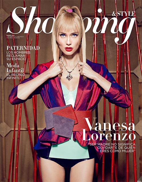 Vanessa Lorenzo, fotografiada por Juan Manuel Macarro (estilismo de David García Miras y Sofía Stein).