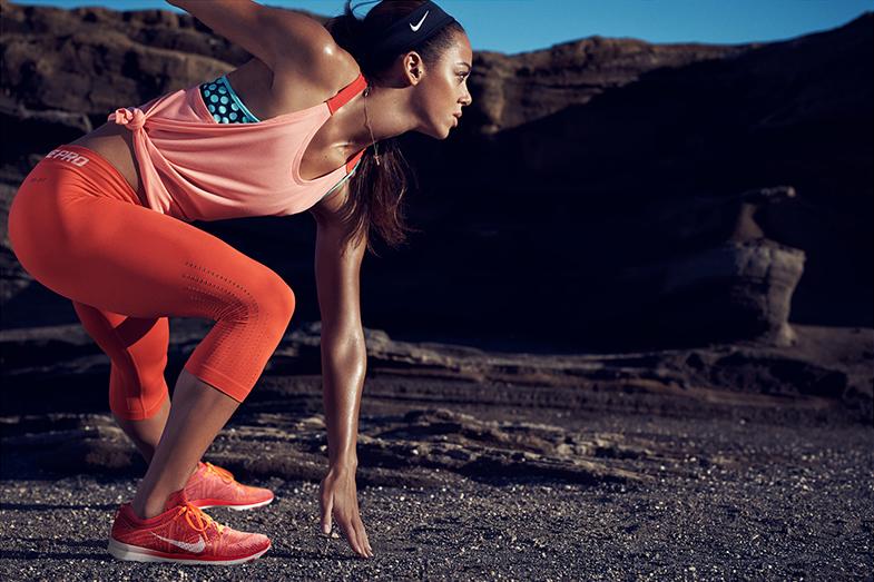 Las zapatillas © Nike