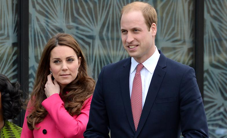 Los Duques de Cambridge el pasado mes de marzo. © Cordon Press