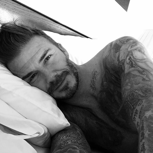¡A los buenos días, David! © Instagram