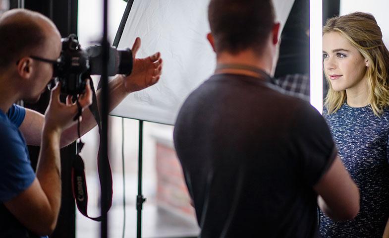 Shipka durante una sesión de fotos en el Festival de Berlín donde la encontramos. © Getty Images