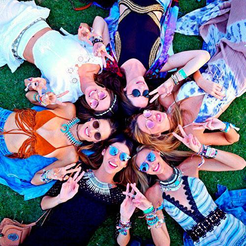 ¡Qué bonitos los festivales de verano! © Cordon Press
