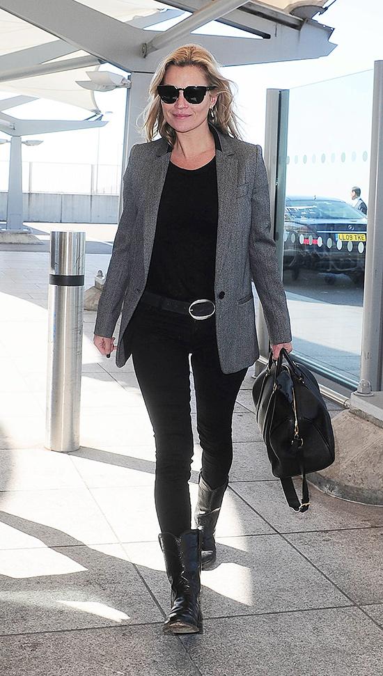Kate llegando al aeropuerto de Heathrow, Londres, hace unos meses. © Cordon Press