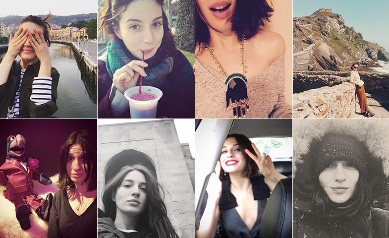 Algunas de las instantáneas del Instagram de María, @soylavalverde
