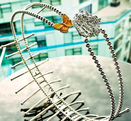 Cinturón valorado en casi 80.000 euros.
