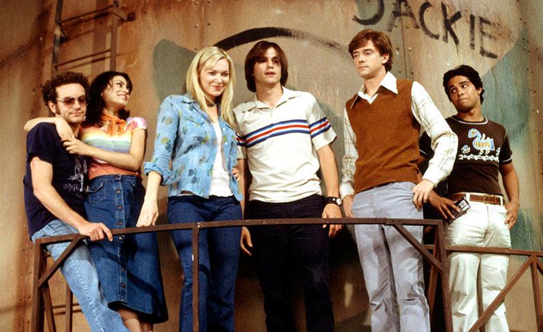 © Fotograma de la serie que revivía la década, 'Aquellos maravillosos 70'.
