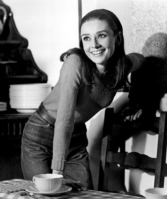 """""""Toda mi vida he querido ganar dinero para tener una casa propia. Soñaba con tener una casa en el campo con un jardín y árboles frutales"""", Audrey Hepburn. © Cordon Press"""