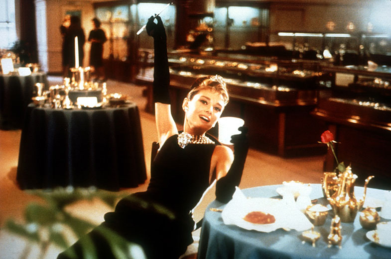 A Audrey le encantaba desayunar y de vez en cuando, en domingo, se daba el capricho de desayunar en la cama. © Getty Images
