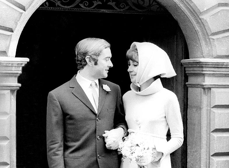 En 1969 Audrey se casaba  en Suiza con el italiano Andrea Dotti. Pocos meses después nacía su segundo hijo, Luca. © Cordon Press