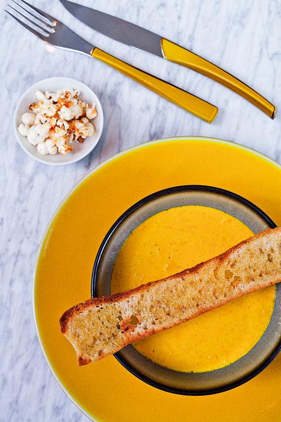 Aprovecha la tmeporada de calabaza para hacer con ella cenas ligeras. © Kim Young-Ah para Mondadori Photo