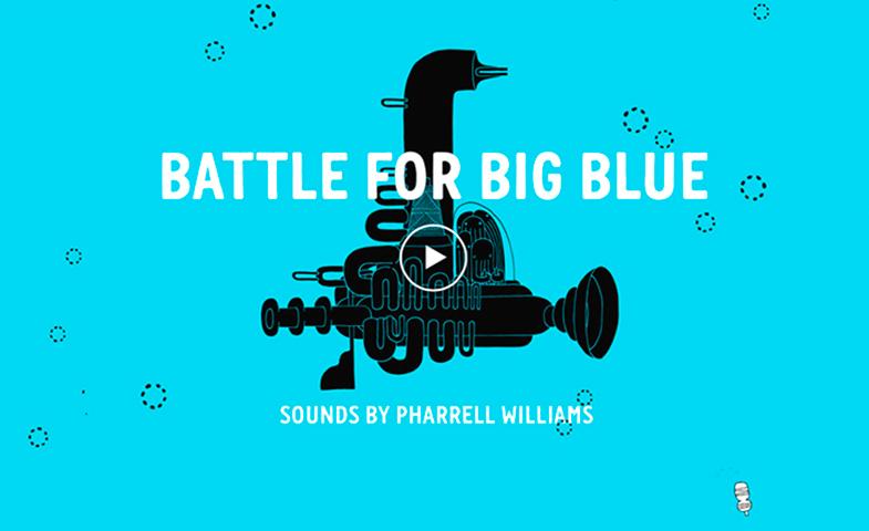 Battle for big Blue es el videojuego gratuito que busca concienciar sobre la contaminación  de los océanos.