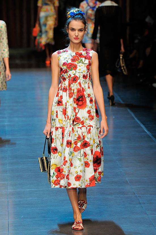 Desfilando en el último show de Dolce & Gabbana en Milán © Cordon Press