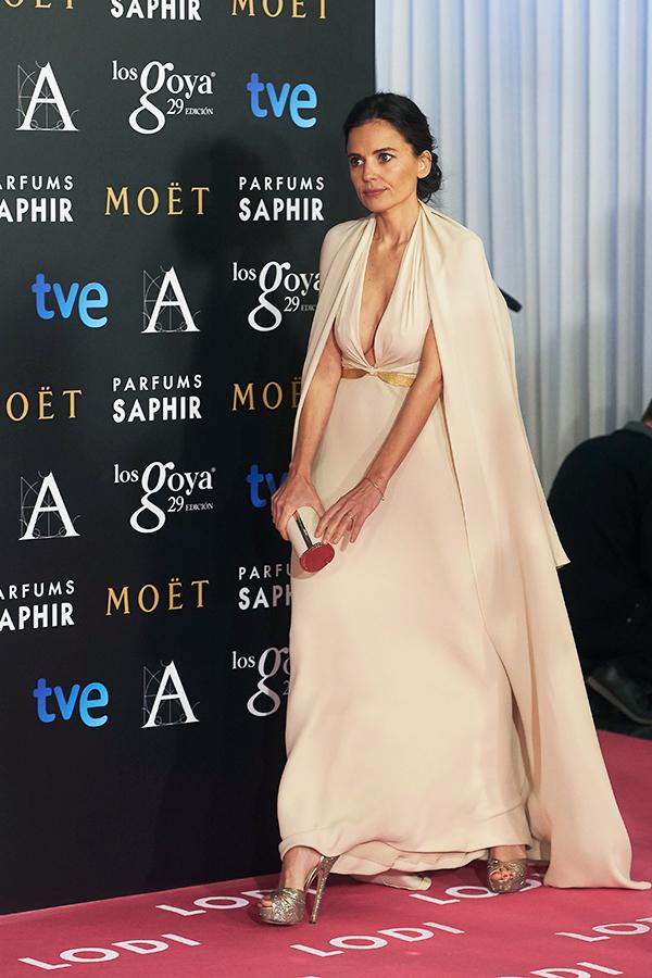 Elena Anaya vestida de Sybilla durante la pasada edición de los Premios Goya. © Cordon Press
