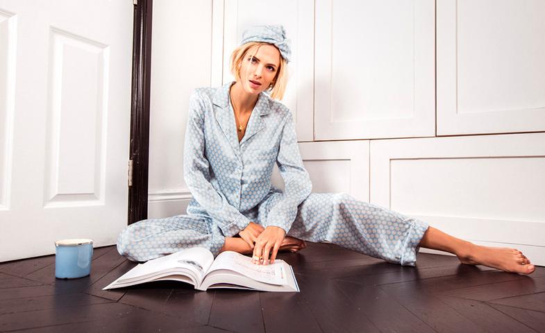 Pijamas clásicos.