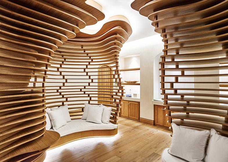 Un templo de aspecto muy contemporáneo para cuerpo y mente: el Six Senses Spa.