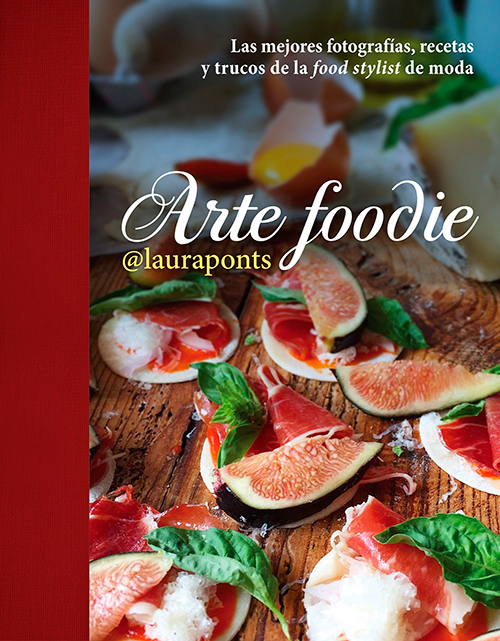 Portada del libro de Laura, 'Arte foodie'.