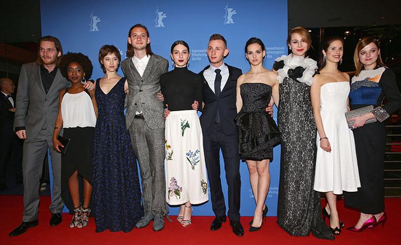 María posa junto a los otros 9 actores europeos convocados por esta nueva edición del Shooting Stars. © Getty Images