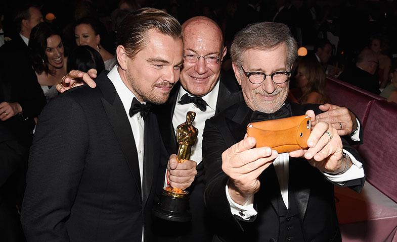 ¿Que quieres un selfie conmigo, Spielberg? Bueno, vale, POR QUÉ NO. © Getty Images