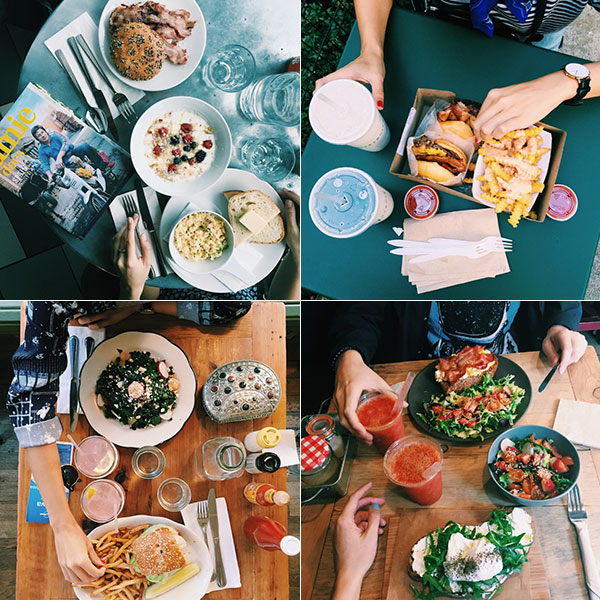 Después de hacer la foto salivando... ¡a comer! © Instagram @celcuervo