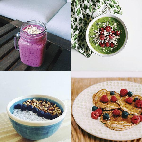 Con esta pinta, ¿cómo no vamos a probar los smoothie bowls, la chía y las tortillas de avena? © Instagram @ayearofbreakfasts