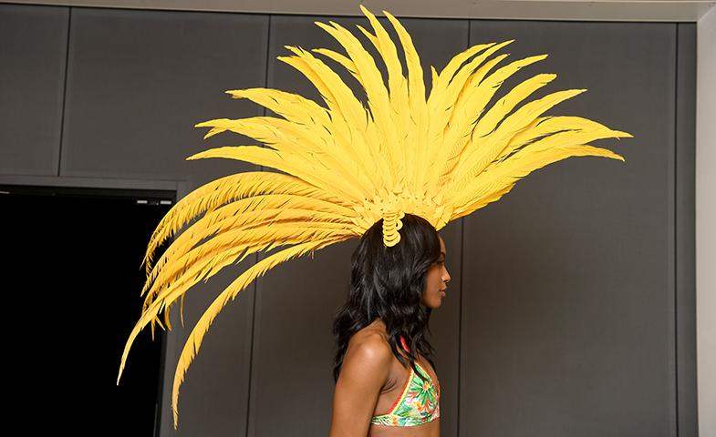 Brasil, con su colorido, sus ganas de vivir y, sobre todo, sus Juegos Olímpicos de este verano, inspira la colección. © Cortesía de Calzedonia