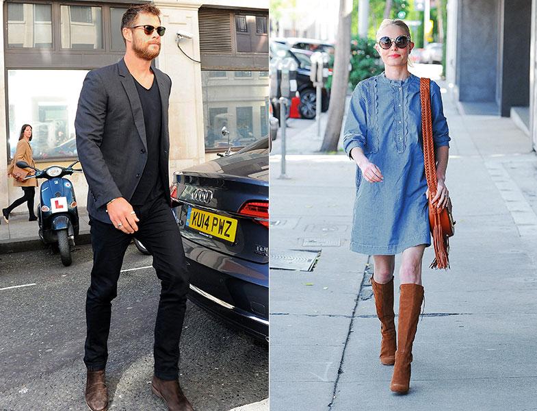 Chris Hemsworth y Kate Bosworth protagonizan nuestro 'Copia el look' del mes. © Getty Images / Cordon Press
