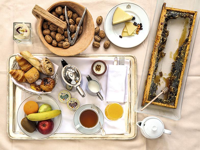 Un desayuno digno de príncipes y princesas (de cuento, o con cuento, al gusto).
