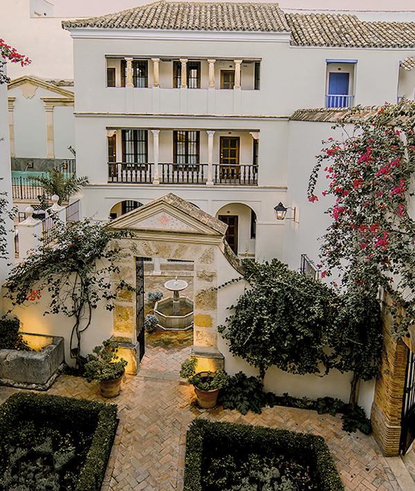 Las Casas de la Judería, en Córdoba, se construyeron sobre los solares donde nació Góngora.