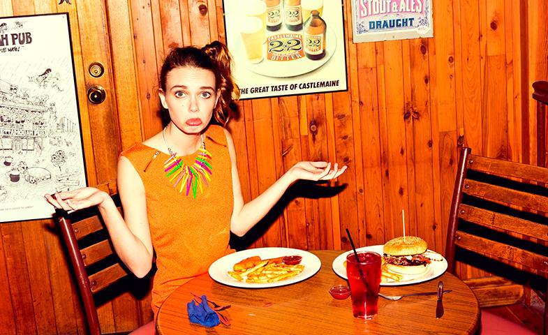 No solo eres lo que comes. También sientes lo que comes. © Minkpink