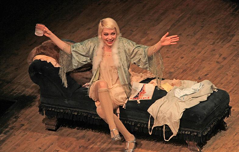 Michelle Williams en la obra 'Cabaret'. © Cordon Press