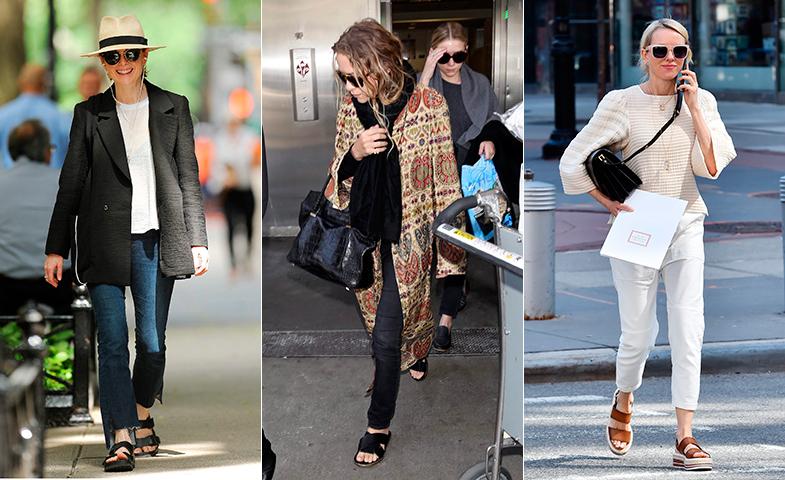 Julianne Moore, Mary Kate Olsen y Naomi Watts se rinden a diario a la comodidad de este calzado. © Cordon Press
