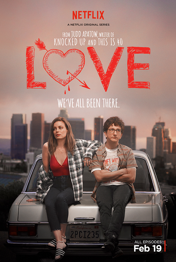 ¿No te enamoraste de ellas cuando viste a Mickey en el póster de 'Love'? © Netflix