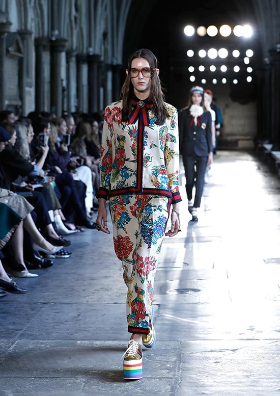 Tras el éxito del mocasín, la próxima propuesta de 'ugly shoe' por parte de Gucci será la plataforma. © Getty Images