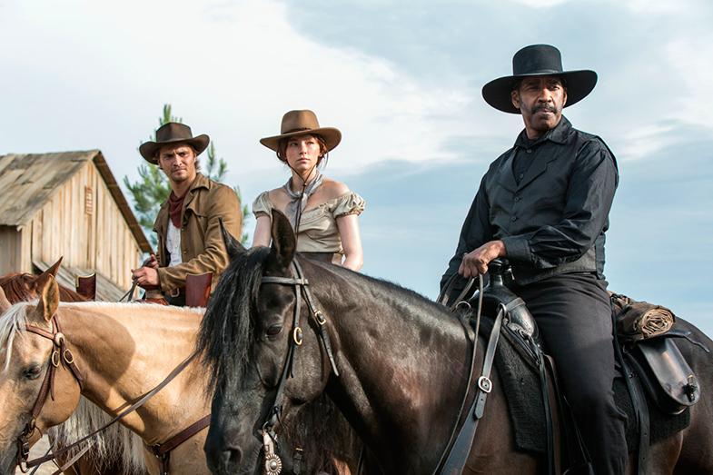 'Los siete magníficos', una de las películas que Haley Bennett ha estrenado este año.