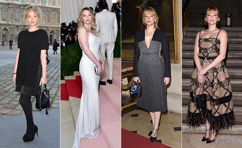 En el desfile de Louis Vuitton; de Michael Kors en la gala del Met de este año; en el último desfile de Dior; y en un evento celebrado por Chanel en Nueva York. © Cordon Press / Getty Images