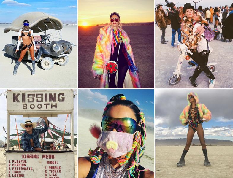 Sara Sampaio, Poppy Delevingne, Karlie Kloss y Cara Delevingne, Scott Eastwood, Katy Perry y Paris Hilton no se han perdido esta edición del Burning Man.