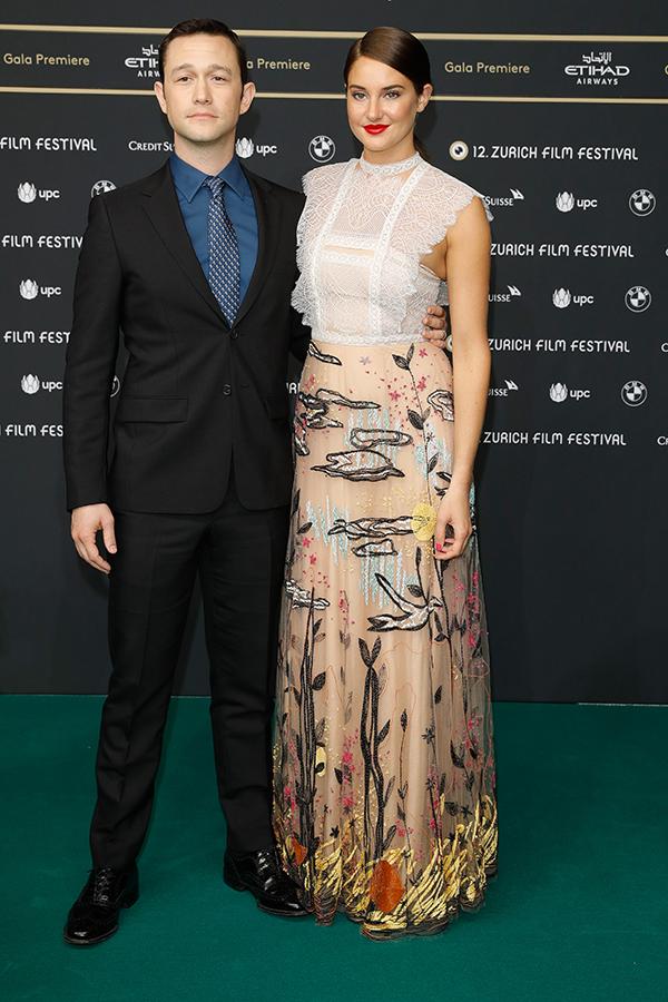 Los actores promocionando la película, esta semana en Suiza. © Getty Images