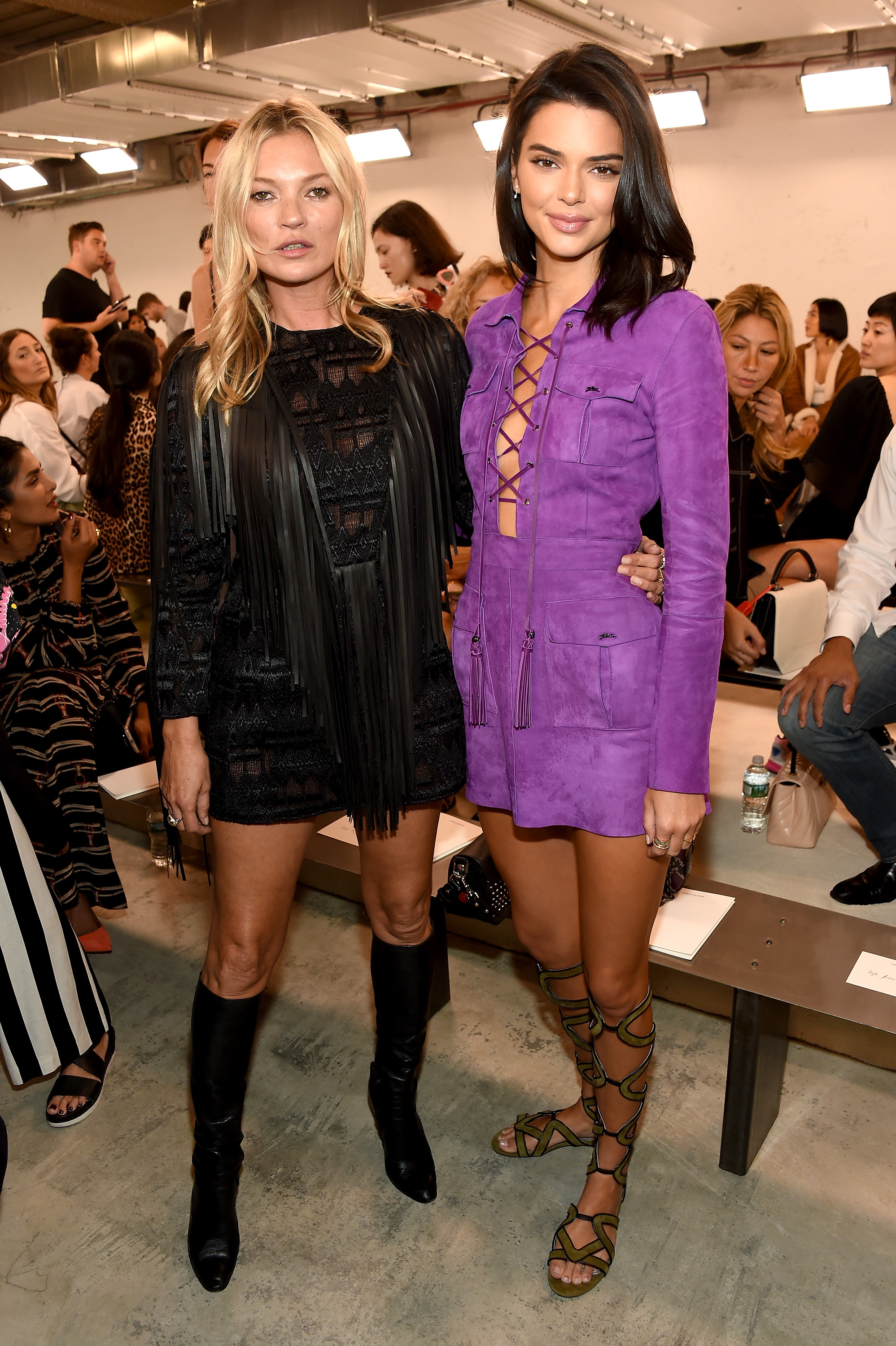Kate Moss y Kendall Jenner